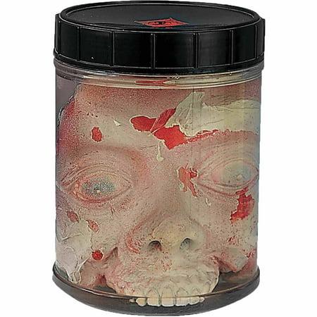 3D Head In Jar Prop Halloween Decoration - Halloween 3d Multiplayer