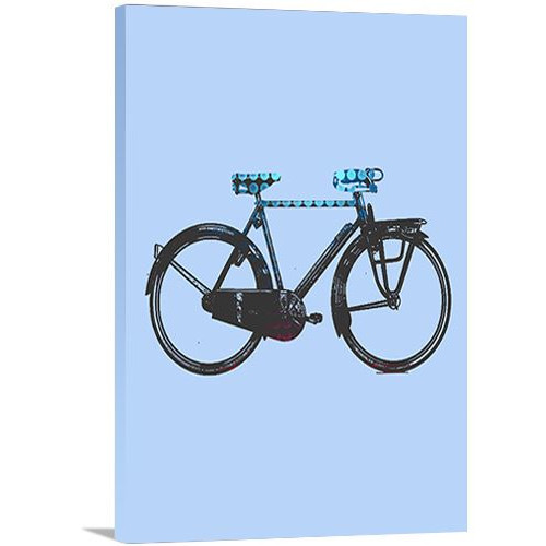Artzee Designs 'Modern Country Bicycle' Graphic Art on Wrapped Canvas