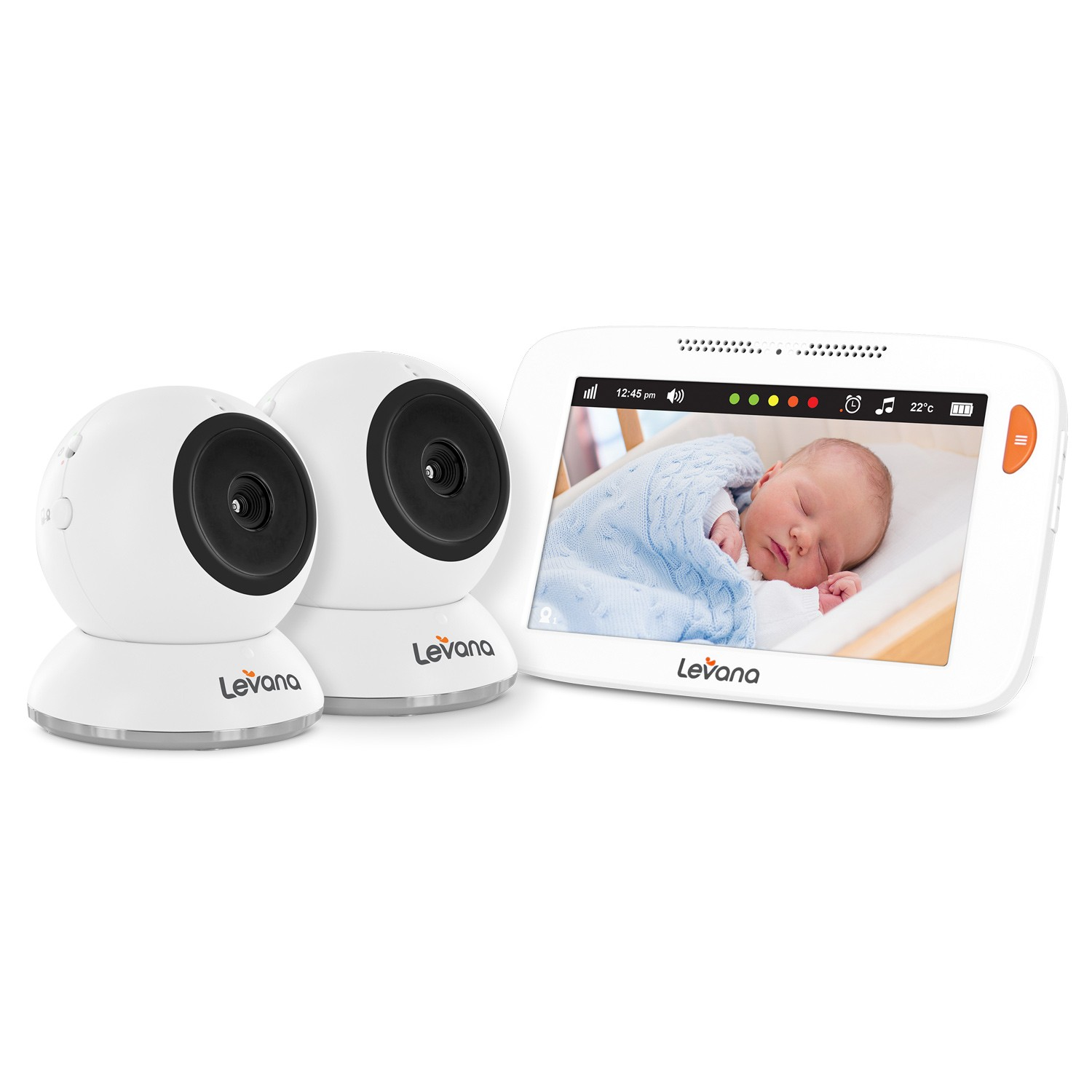 Levana Shiloh, Video Baby Monitor, 5� Touchscreen, 2 Cameras by Circus World Displays Limited