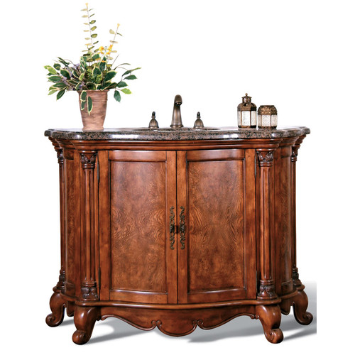 Legion Furniture 47'' Azores Sink Chest Vanity Set