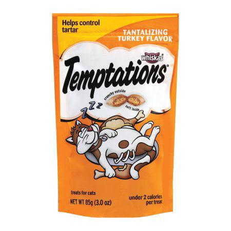 Temptations Turkey Flavor Cat Treats (Pack of 4)