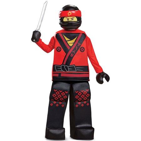 Boys' Lego Ninjago Movie Kai Prestige Costume
