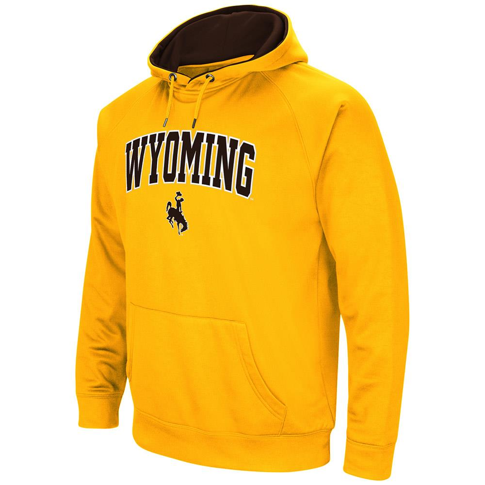 Mens NCAA Wyoming Cowboys Fleece Pull-over Hoodie by Colosseum