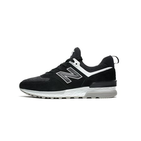 sale b4127 34083 Mens New Balance 574 Fresh Foam Black Grey White MS574CC