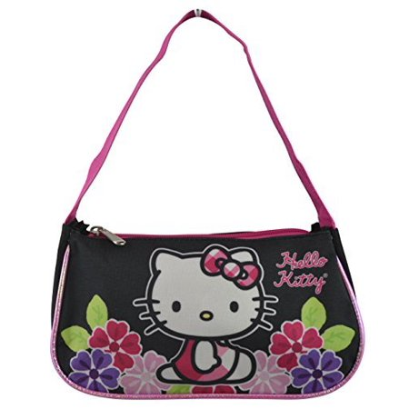 ca4e91cfd4 Hello Kitty - Sanrio Hello Kitty Black Handbag - Purse - Walmart.com
