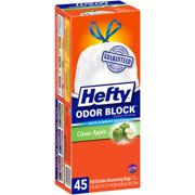 Hefty Extra Strong Trash Large Drawstring Trash Bags 30