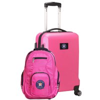 Houston Astros Deluxe 2-Piece Backpack and Carry-On Set - Pink - No Size