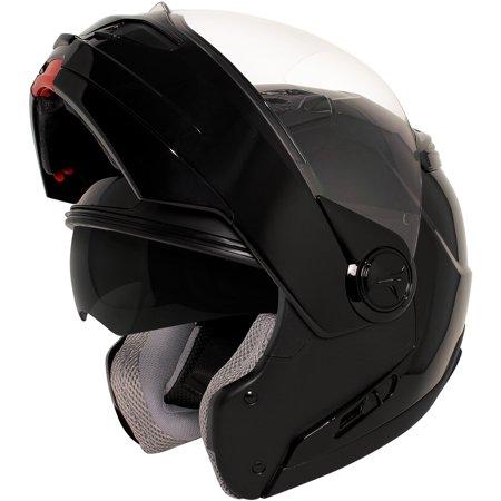 Hawk St 1198 Transition 2 In 1 Black Modular Helmet