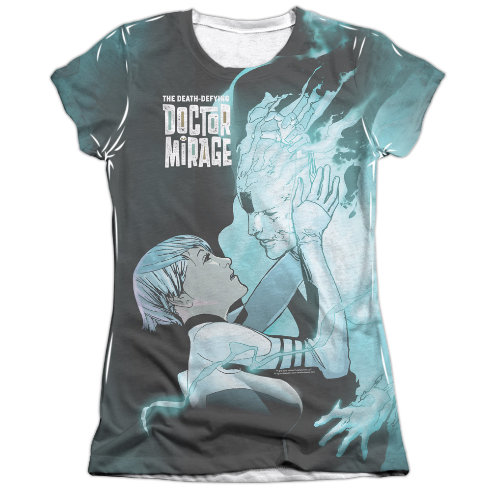 Doctor Mirage Connecting (Front Back Print) Juniors Sublimation Shirt