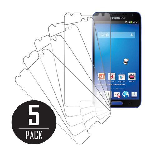 Samsung Galaxy J N075T, Screen Protectors, 5-Pack, Clear