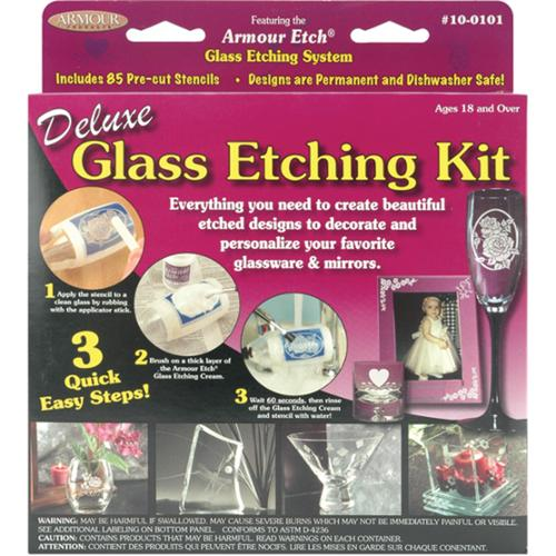 Deluxe Glass Etching Kit-