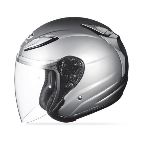 Kabuto Avand 2 Solid Helmet Aluminum Silver LG