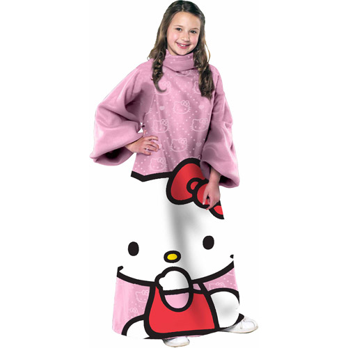 Hello Kitty Pink Ooo Youth Comfy Throw
