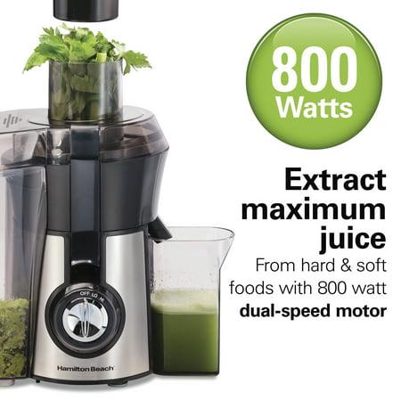 Hamilton Beach Easy Clean Juice Extractor, 800 Watts, Model 67735