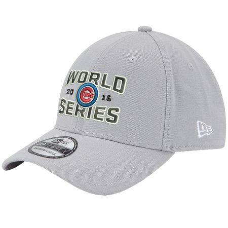 bfac79a076a Chicago Cubs New Era 2016 World Series Champions 39THIRTY Flex Hat - Gray -  Walmart.com