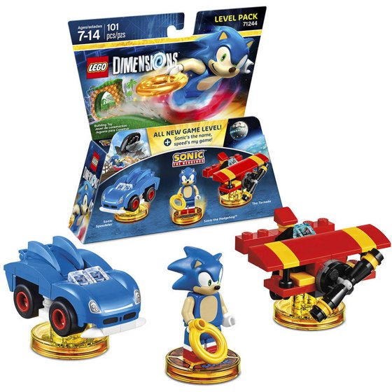 LEGO Dimensions Sonic The Hedgehog Level Pack (Universal