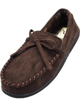 5c72097ac3a Mens Slippers Moccasin & Loafer - Walmart.com