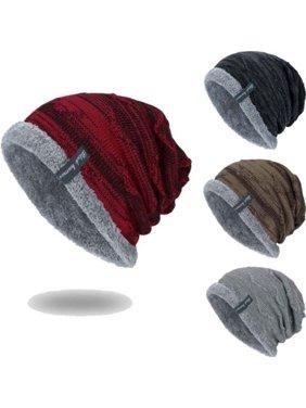 6b1b8b4dd9f Product Image Men Women Knitted Baggy Beanie Winter Warm Hat Ski Causal Knit  Cap Unisex Hats