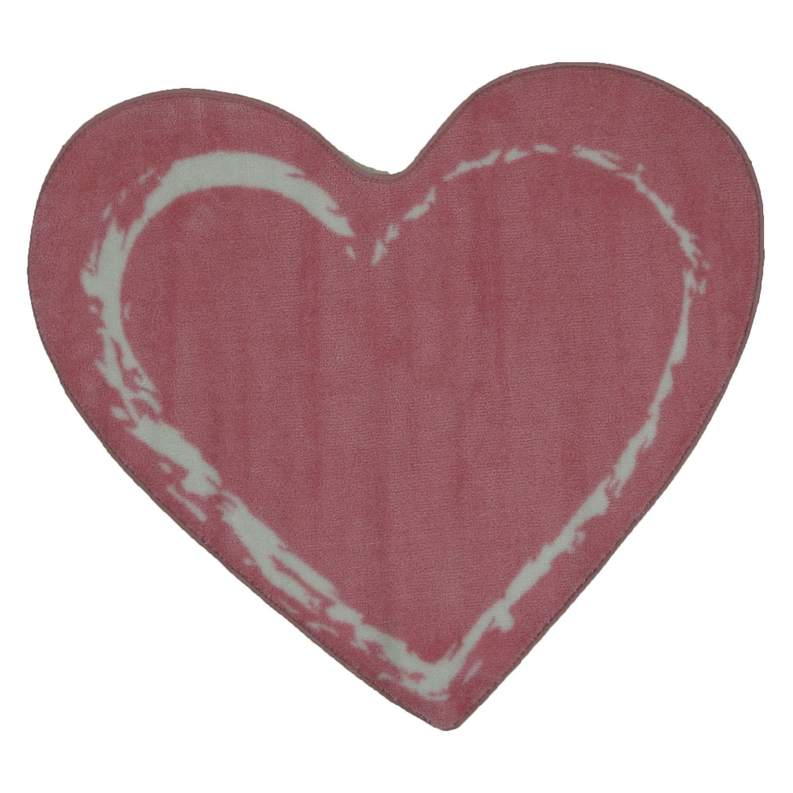 "Fun Rugs Pink Heart 35"" x 39"" Rug"