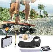 FAGINEY Electric Skateboard Longboard Dual Drive ESC Substitute Control Mainboard with Remote, Skateboard ESC Substitute, Electric Skateboard Controller