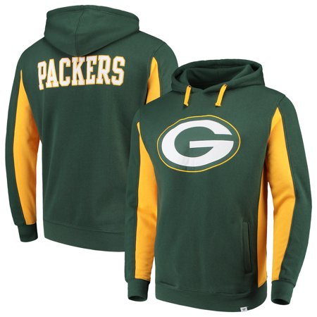 big sale a547e bb9b1 Green Bay Packers NFL Pro Line by Fanatics Branded Team Iconic Pullover  Hoodie - Green