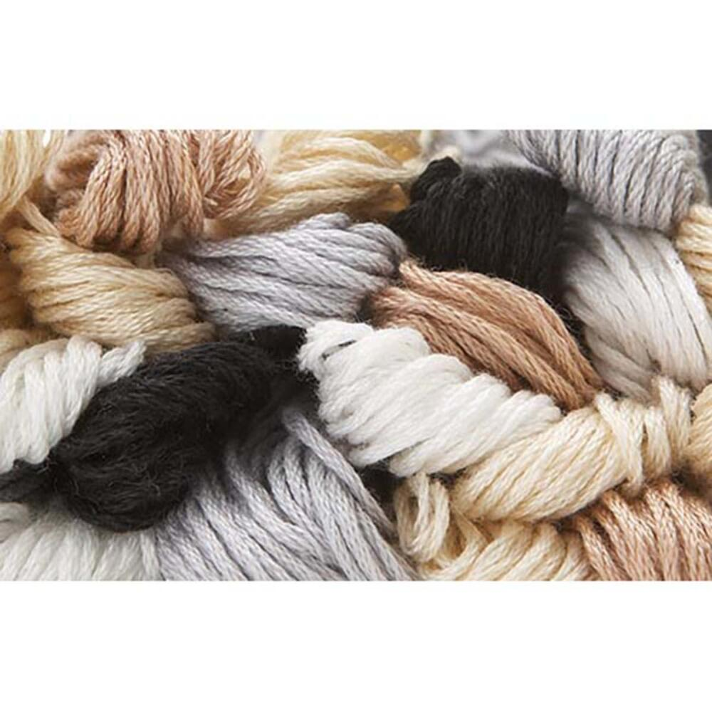 Craftways Value Pack-Barely Basic, 30 Skeins Embroidery Floss