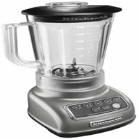 KitchenAid 5-Speed Blender RRKSB1570SL, 56-Ounce, Silver (Certified Refurbished)
