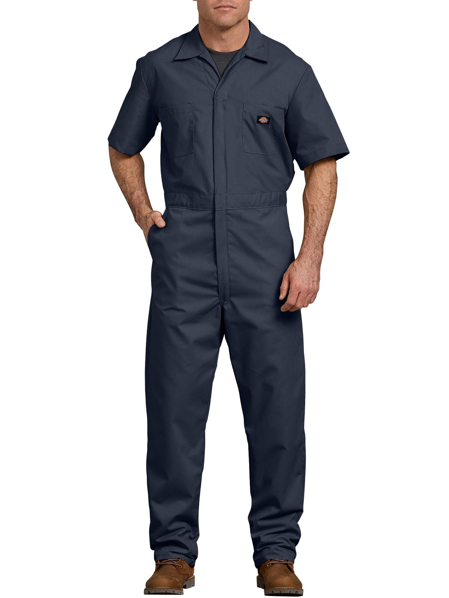 "DICKIES MEN/'S OXFORD SHIRT SHORT SLEEVE BUTTON DOWN COLLAR SMART WORKWEAR 15-20/"""