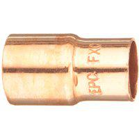 EPC 32050 Pipe Reducer, 1/2 x 1/4 in, FTG x Copper, Copper