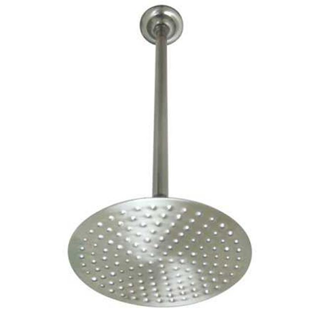 ceiling mounted shower head. Kingston Brass K236K28 Shower Head With 17 In. Ceiling Mounted Arm Oil Rubbed Bronze