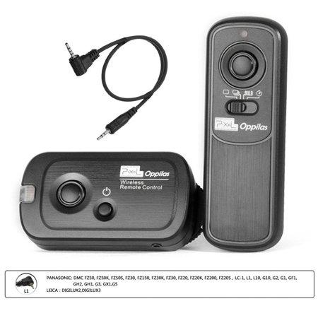 Pixel RW221 L1 Wireless Shutter Release Remote Control for Panasonic Panasonic DMC FZ50, FZ50K, FZ50S, FZ30, FZ150, FZ30K, FZ30
