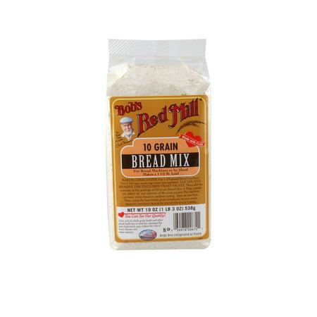 Kosher Bread Mix - Bob's Red Mill Bread Mix 10-Grain, 19 Ounces