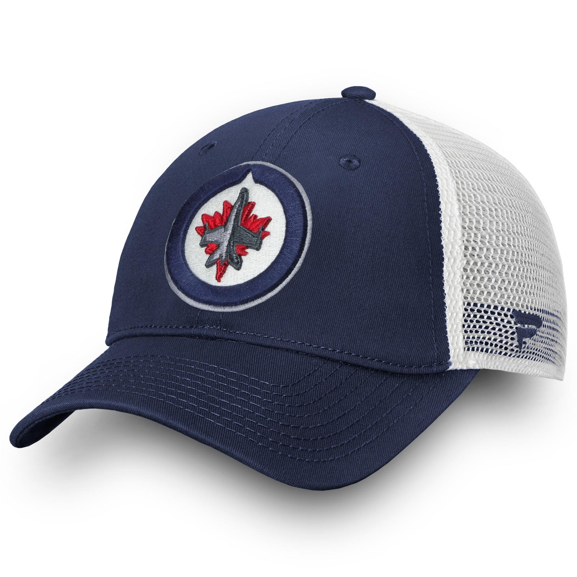 Winnipeg Jets Fanatics Branded Core Trucker II Snapback Adjustable Hat - Navy - OSFA