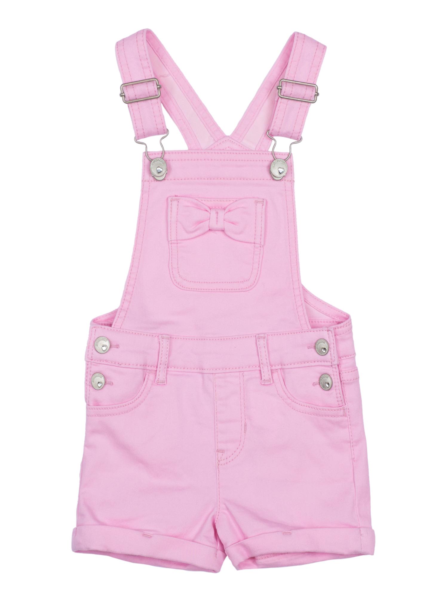 Denim Shortalls (Toddler Girls)