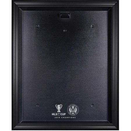 Mls Team Logo Framed (Atlanta United FC 2018 MLS Cup Champions Black Framed Team Logo Jersey Display Case )