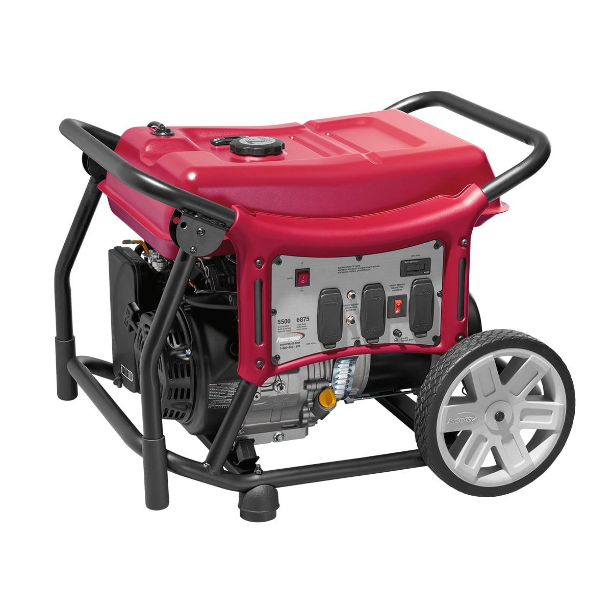 Powermate 5500 Watt Portable Generator, CSA - PC0145500