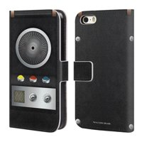 OFFICIAL STAR TREK GADGETS LEATHER BOOK WALLET CASE COVER FOR APPLE IPHONE PHONES