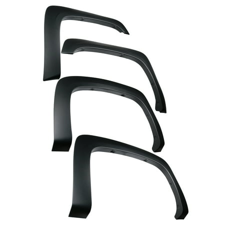 Classic Front Fender (Tyger Auto TG-FF6C4288 For 2007-2013 Chevy Silverado 1500 2500HD 3500HD 6.5' & 8' Bed (NOT for Sierra) | Excl. 07 Classic | Paintable Fine-Textured Matte Black Factory Style Fender Flare Set, 4 Piece)