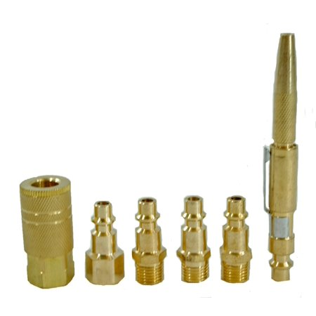 Air Brass Coupler Set with Adjustable Pocket Air Gun
