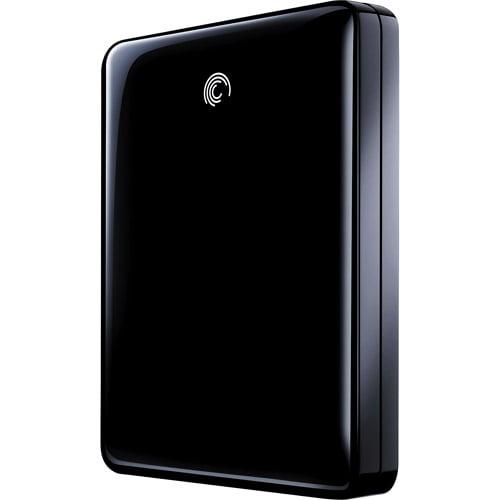 Seagate FreeAgent GoFlex 500GB USB 3.0 Ultra-Portable Hard Drive, Black
