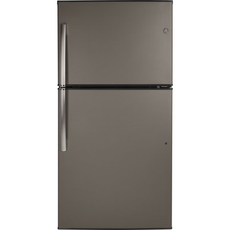 GE Appliances GIE21GMLES Slate Series 33 Inch Freestanding Top Freezer Refrigerator Slate 800 Series Refrigerator