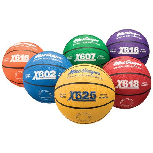 Multicolor Basketball-Color:Green,Size:Official
