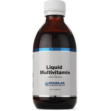 Douglas Laboratories? - Liquid Multivitamin - Orange-Mango Flavored Liquid Multivitamin Sweetened with Stevia Extract - 7.8 fl. oz. (230 -