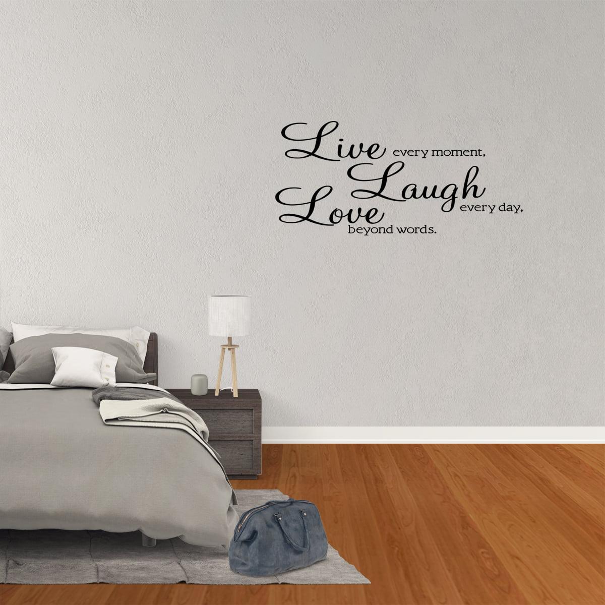 Live Laugh Love Vinyl Wall Sticker Decal Wallpaper Wall Art Home