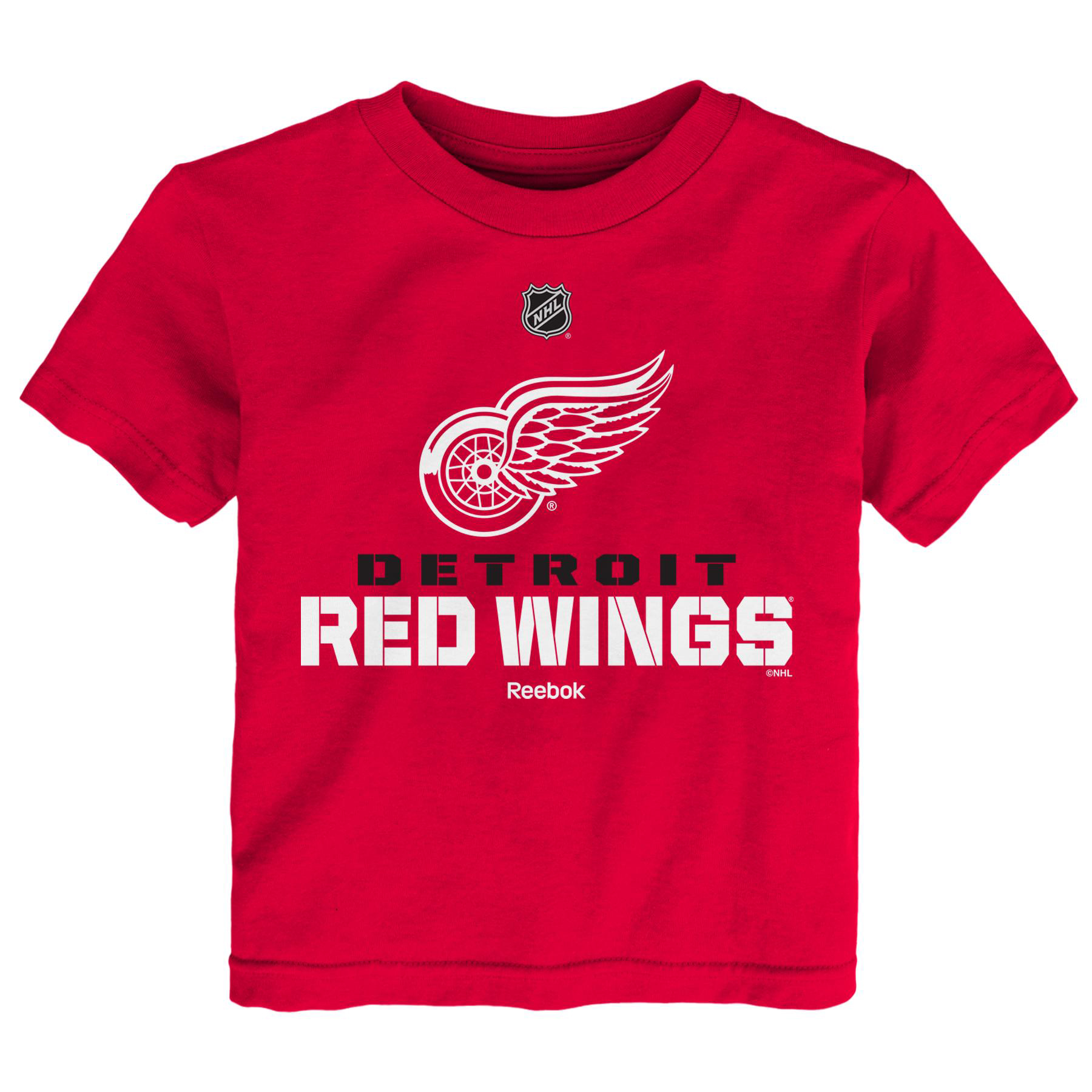 Detroit Red Wings Reebok Youth Clean Cut T-Shirt - Red