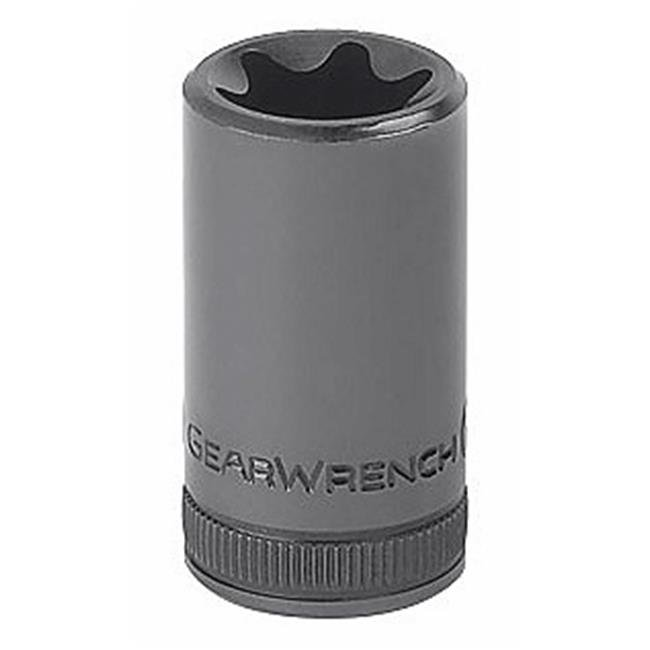 "Gearwrench 80772 1//2/"" Drive 7//16/"" 12pt Deep Socket"