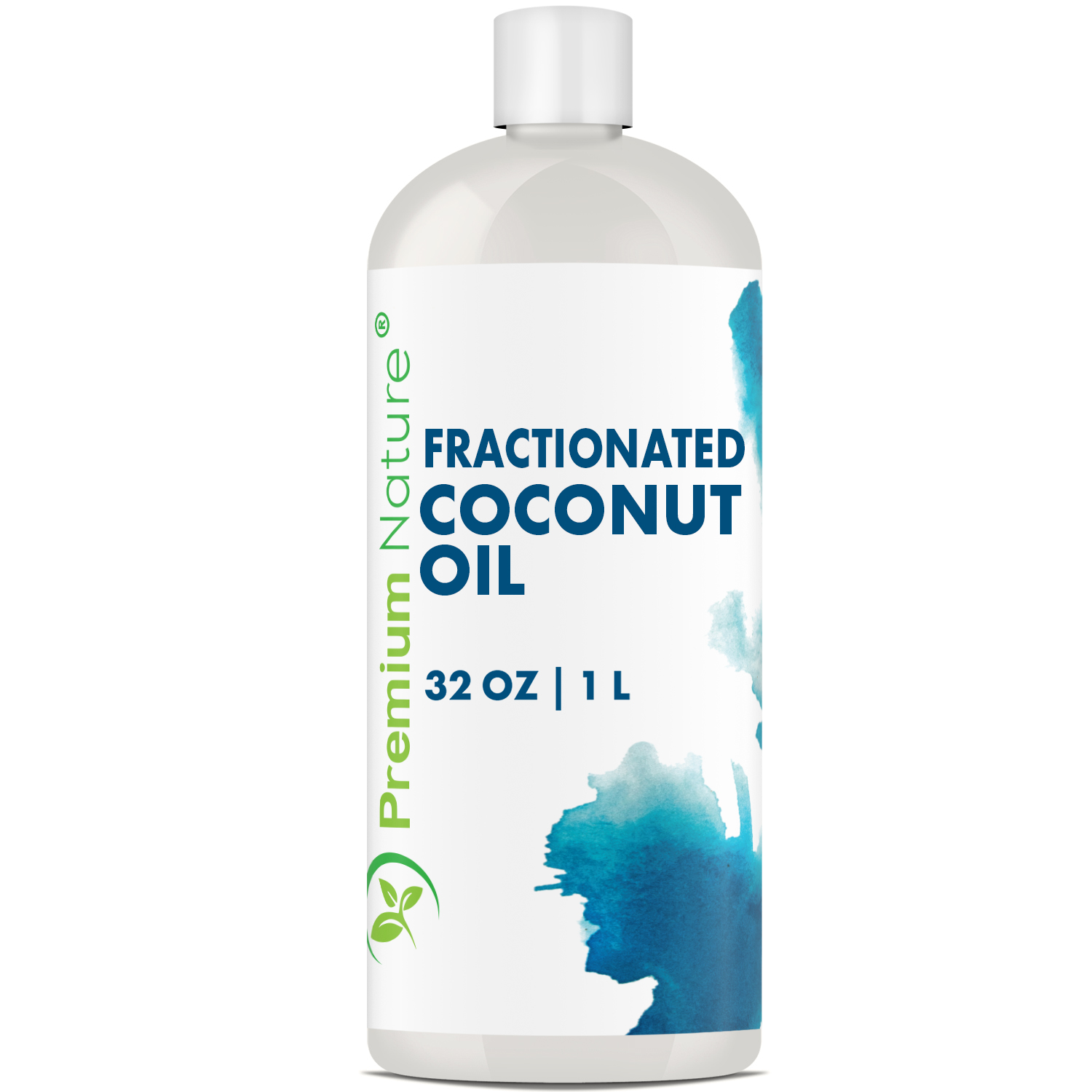 Fractionated Coconut Oil 32 Oz Cold Pressed Pure Mct Oil