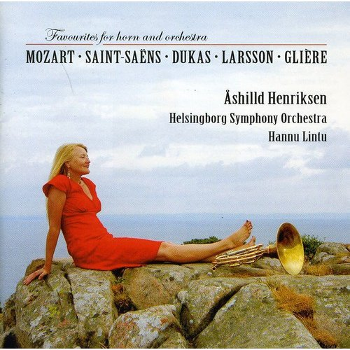 Mozart/Saint-Saens/Dukas/Larsson - Favorites for Horn and Orchestra [CD]