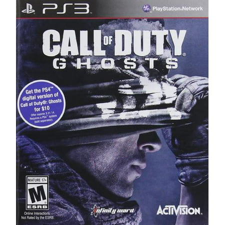Call of Duty: Ghosts - PlayStation 3 (Call Of Duty Ghosts Multiplayer Weapons List)