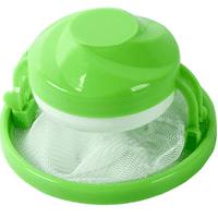 Washing Machine Floating Lint Reusable Mesh Bag Hair Filter Net Hair Catcher, Pink / Blue / Green